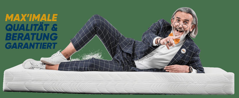 Dodo-Max auf Matratze